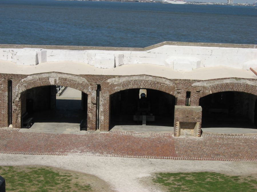 Fort-Sumter-Casements