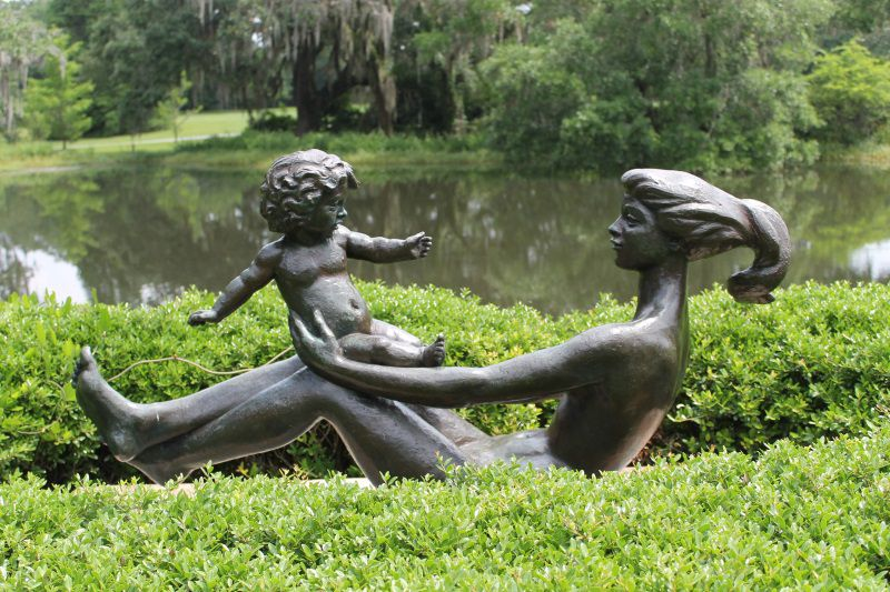 Mother-and-Child-Sculpture