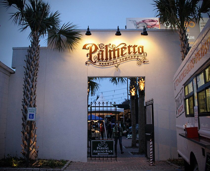Front View of Palmetto Brewery