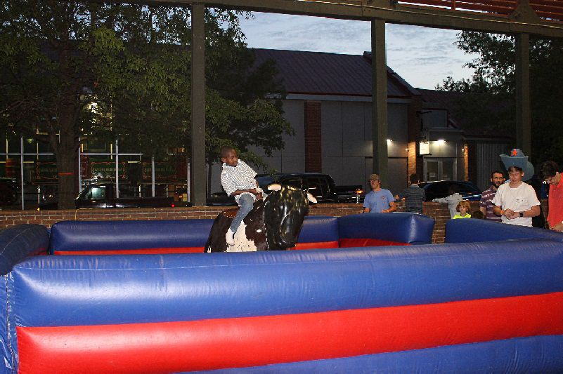 Bull Riding Contest